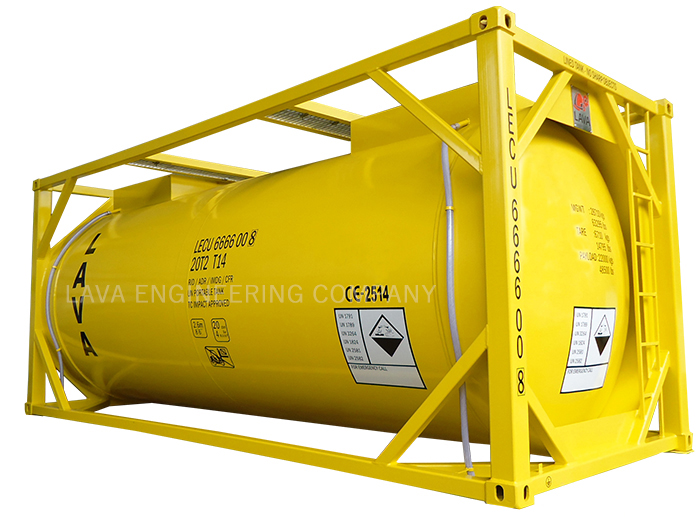 T14 HCL ISO Tank Container